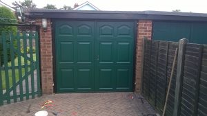 Side Hinged Door Installations Performed By Foremost Garage Doors