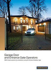 Hormann Garage Door & Entrance Door Operators