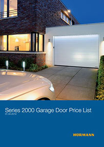 Hörmann Garage Door Price List