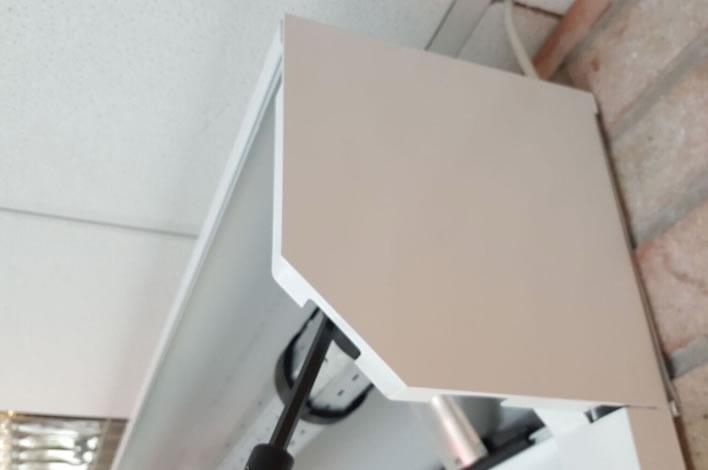 Seceuroglide Doors Powder Coated End Plates