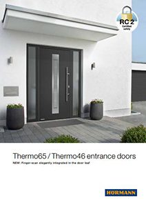 Thermo 65 Entrance Doors