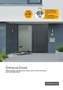 Hormann Entrance Doors Brochure