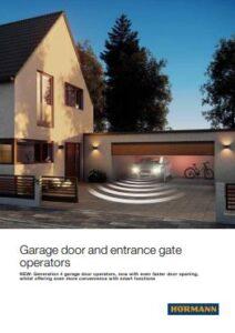 Hormann Garage Door & Entrance Gate Operators Brochure