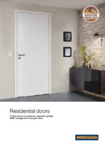 Hormann Residential Doors Brochure