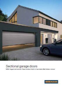 Hormann Sectional Garage Doors Brochure