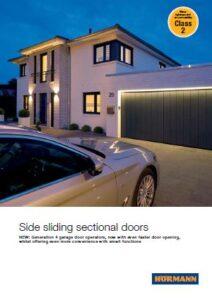 Hormann Side Sliding Sectional Doors Brochure