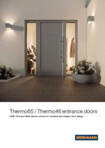 Hormann Thermo 65 / Thermo 46 Entrance Doors Brochure