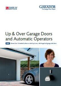 Garador Up & Over Range Brochure